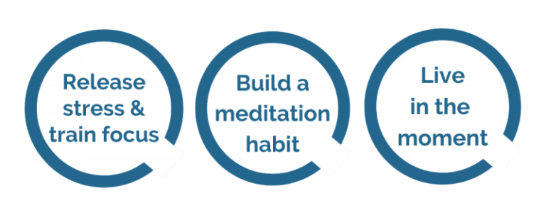 Icons which demonstrate benefits of ZenYo training